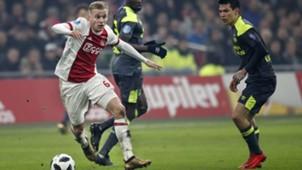 Donny van de Beek, Ajax, Eredivisie 12102017