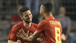 Dries Mertens Belgium 2018