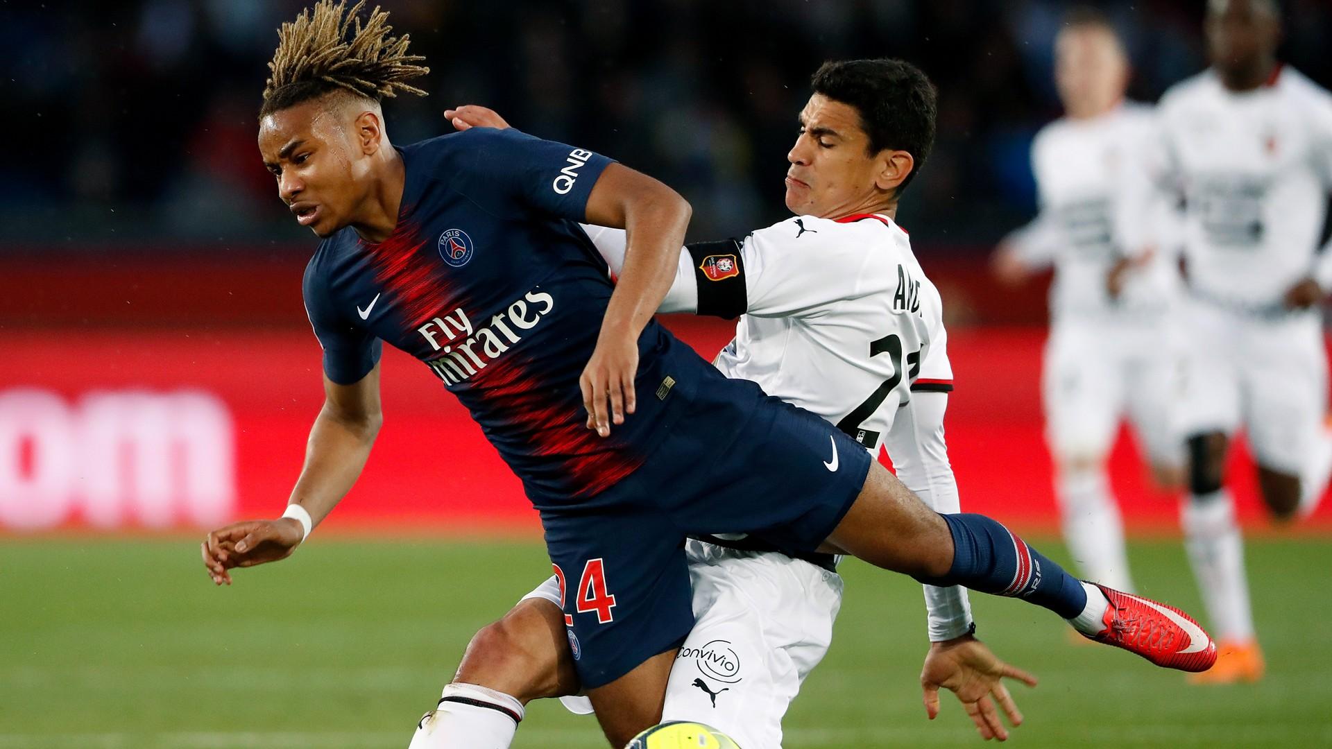 Christopher Nkunku PSG Rennes Ligue 1 12052018