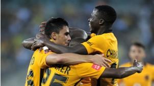 Kaizer Chiefs players celebrate Gordinho goal 1802207