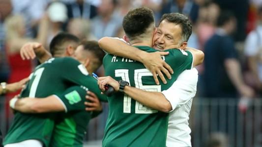 Juan Carlos Osorio México - Alemania