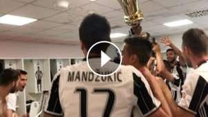 VIDEO PLAY Festejo Juventus Copa Italia Paulo Dybala 17052017