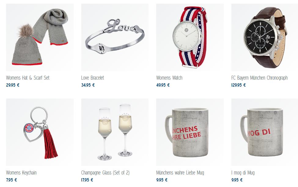 Bayern Munich Valentine's Gifts