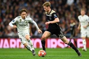 Frenkie De Jong Real Madrid Ajax UEFA Champions League 03/05/19