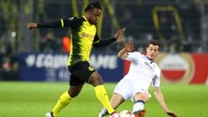 Michy Batshuayi Remo Freuler Borussia Dortmund Atalanta Bergamo Europa League 15022018