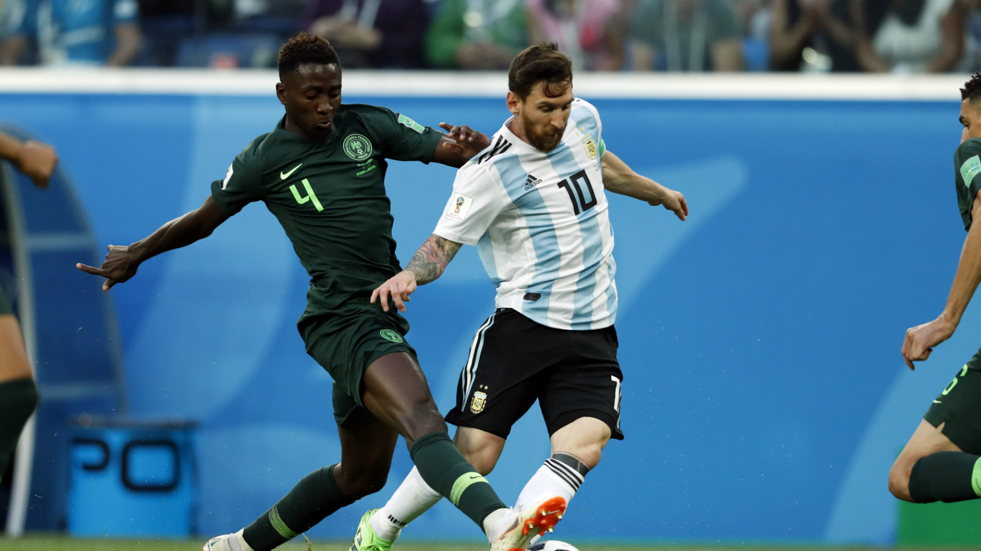 Nigeria v. Argentina - Ndidi