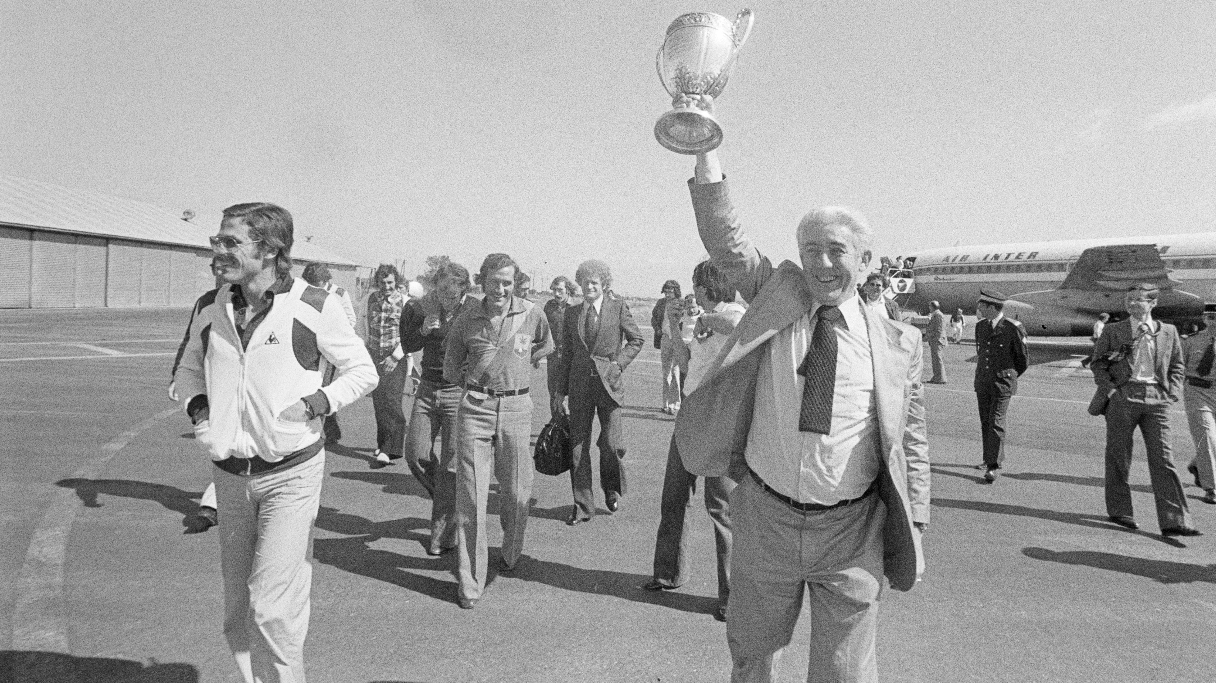 Roger Rocher Saint-Etienne 1977