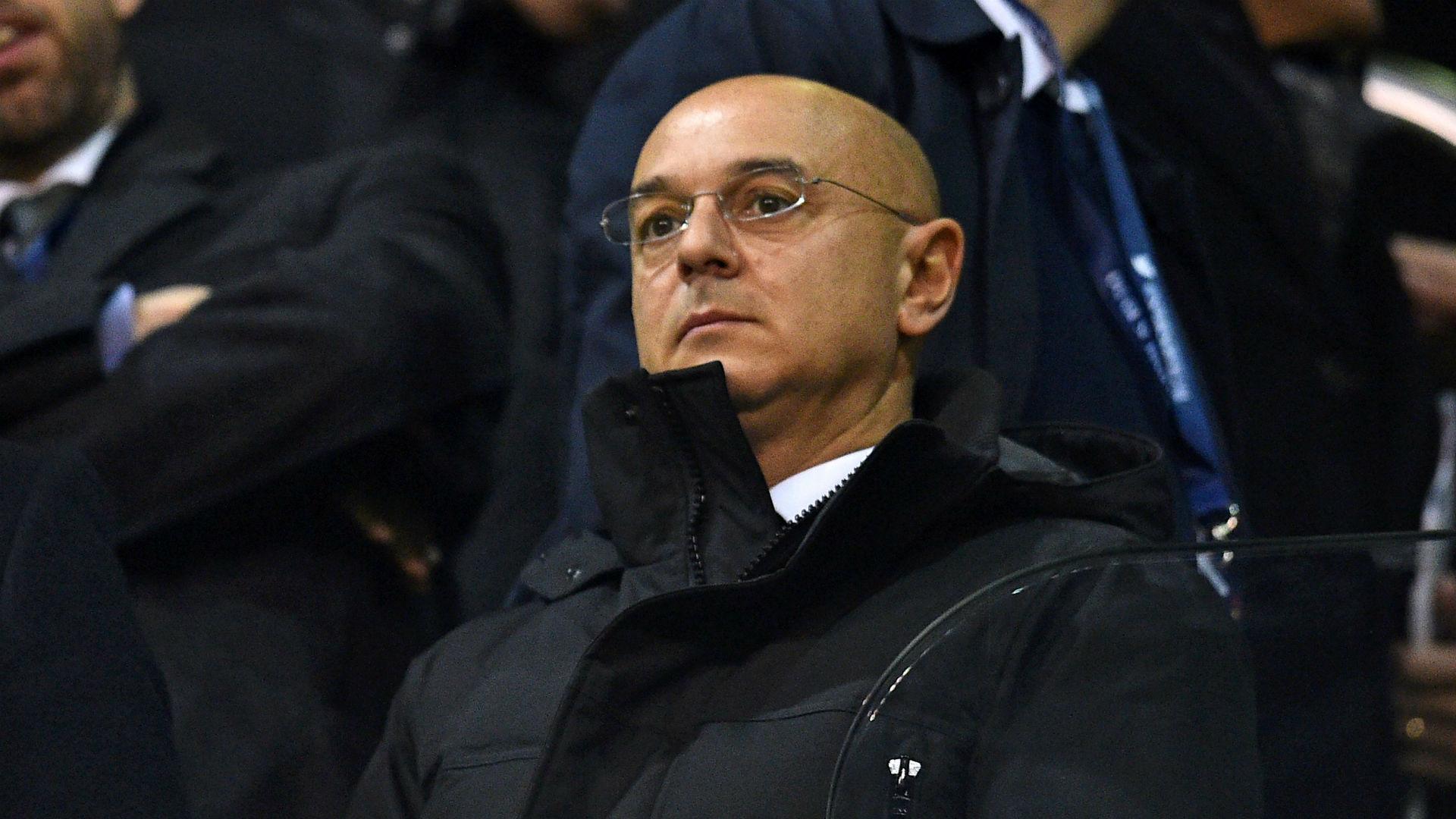 Tottenham chairman Daniel Levy 4/1/2017
