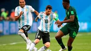 Kenneth Omeruo Nigeria Lionel Messi Argentina