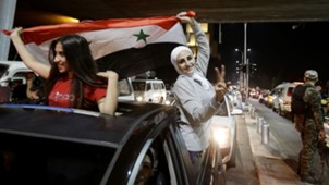Syriann supporter