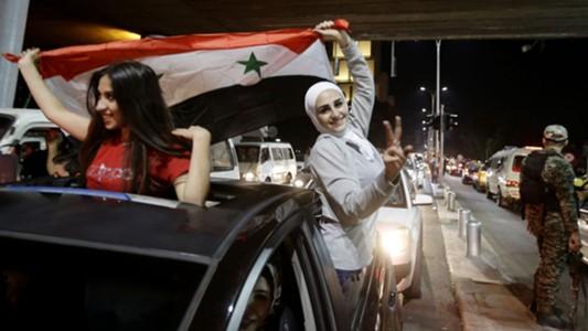 Syriann supporter