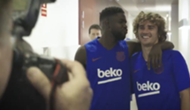 Griezmann Umtiti Barcelona