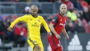 Federico Higuain Michael Bradley Columbus Crew Toronto FC MLS