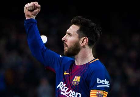 La carrera por la Bota de Oro 2018/19: Messi aumenta la distancia como líder
