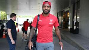 Alexandre Lacazette Arsenal ICC 2018 Singapore