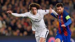 Adrien Rabiot Messi PSG Barcelona
