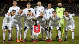 Chile vs Dinamarca 27032018
