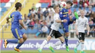 Germany Bosnia and Herzegovina U17 Yannik Keitel Jusuf Gazibegovic