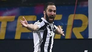 Gonzalo Higuain Juventus Inter Serie A