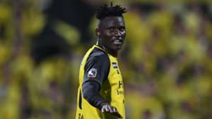 Michael Olunga of Kashiwa Resyol and Harambee Stars.
