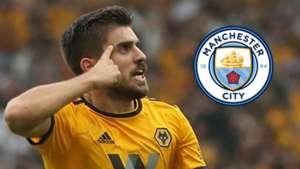 Ruben Neves Wolves Man City