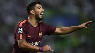 Luis Suarez Sporting CP Barcelona UCL 27092017