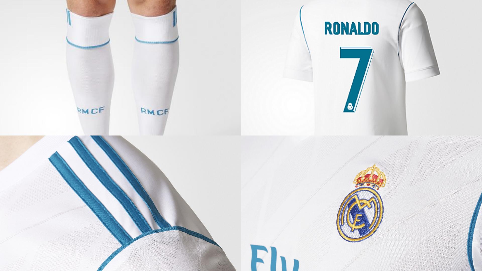 Así son las nuevas camisetas del Real Madrid para la temporada 2017 ... b2497a42dc68f
