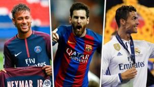 Neymar Messi Ronaldo GFX