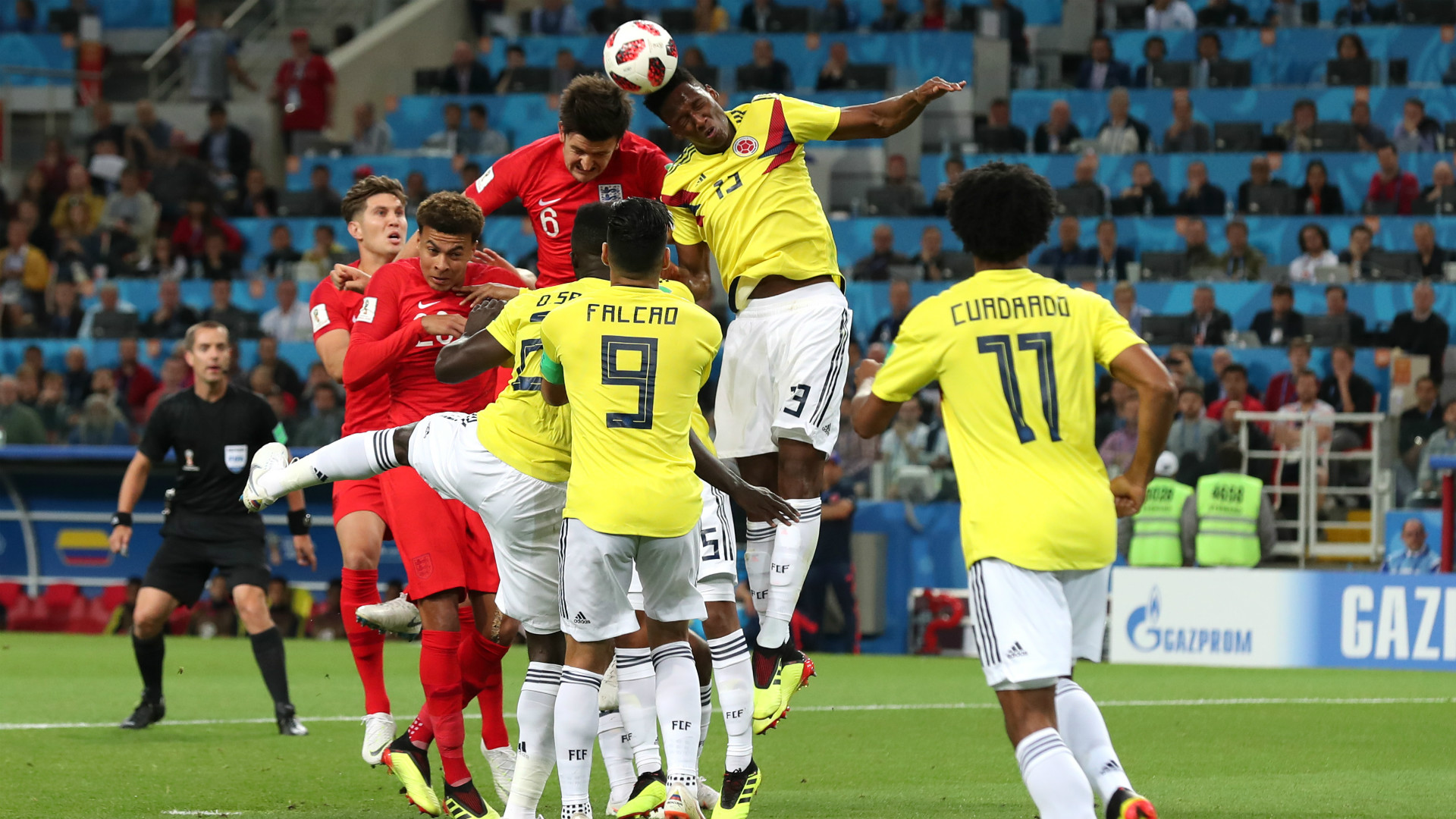 Colombia England WC Russia 03072018