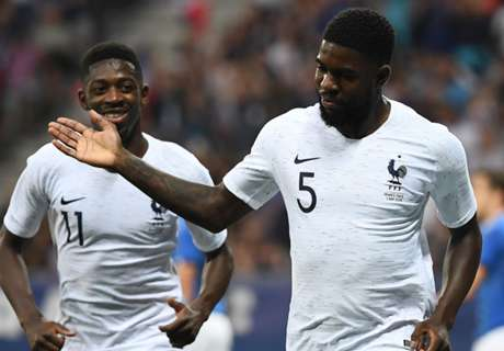 Deschamps encadena a Dembélé al 4-3-3