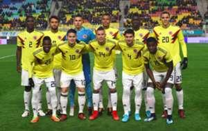 Nómina Colombia vs Corea