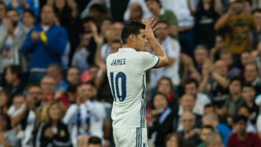 James Rodríguez Real Madrid Sevilla 14052017