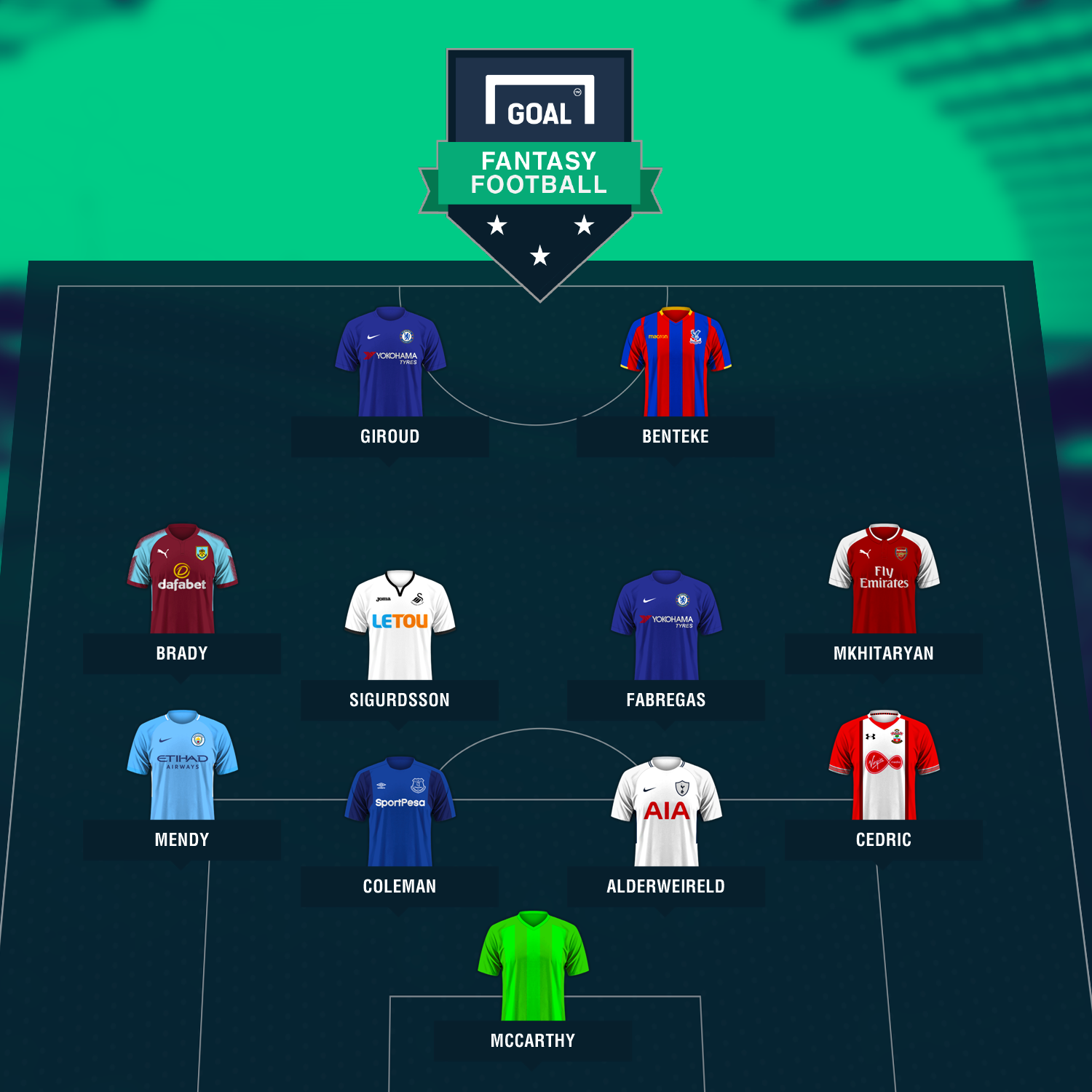 fantasy Bounce back XI graphic