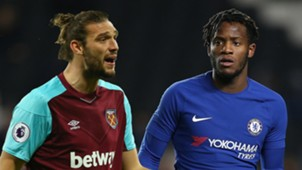 Andy Carroll Michy Batshuayi