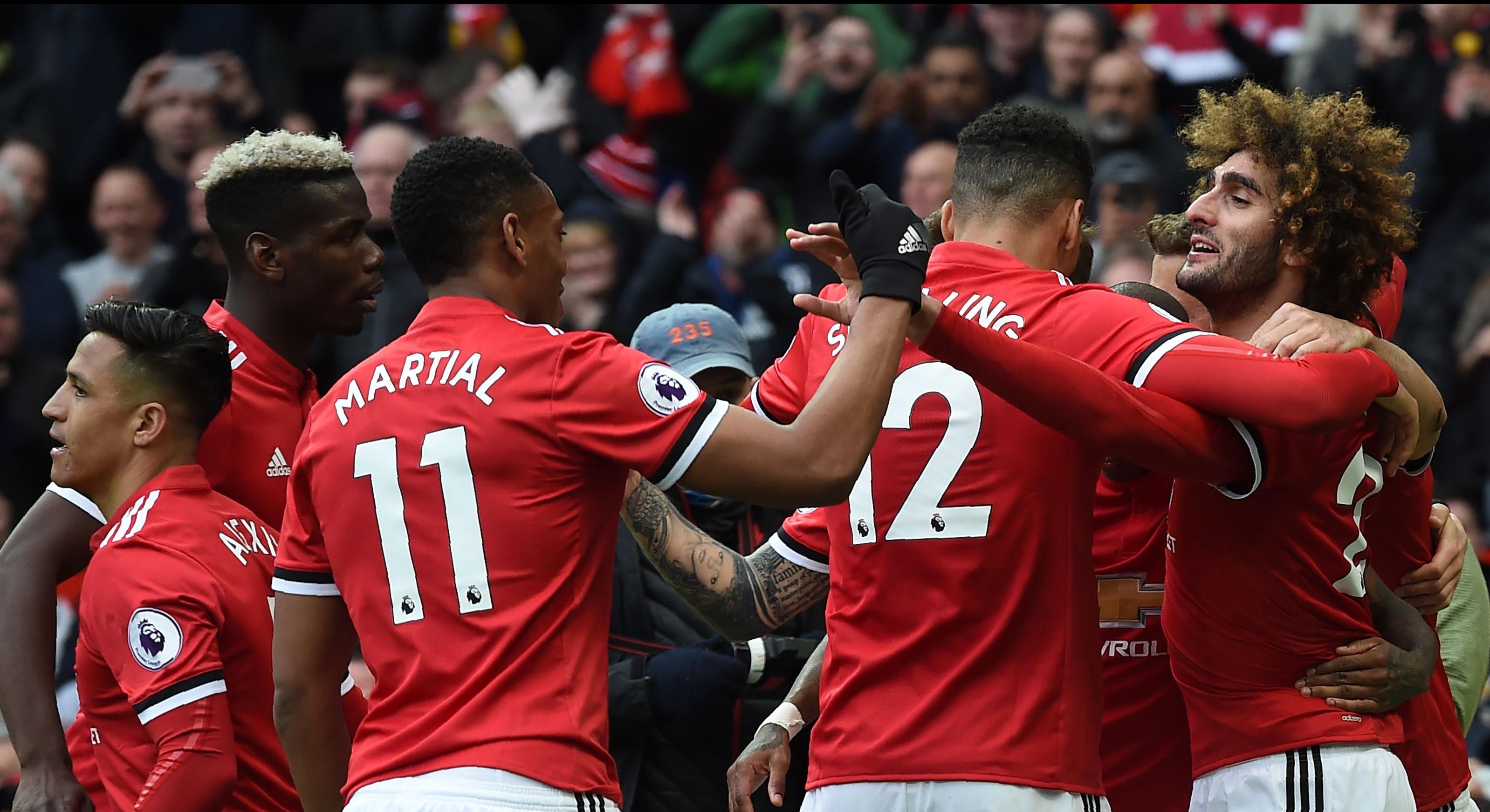 Marouane Fellaini Manchester United Arsenal