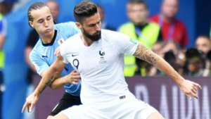 Diego Laxalt Olivier Giroud Uruguay France World Cup 06072018
