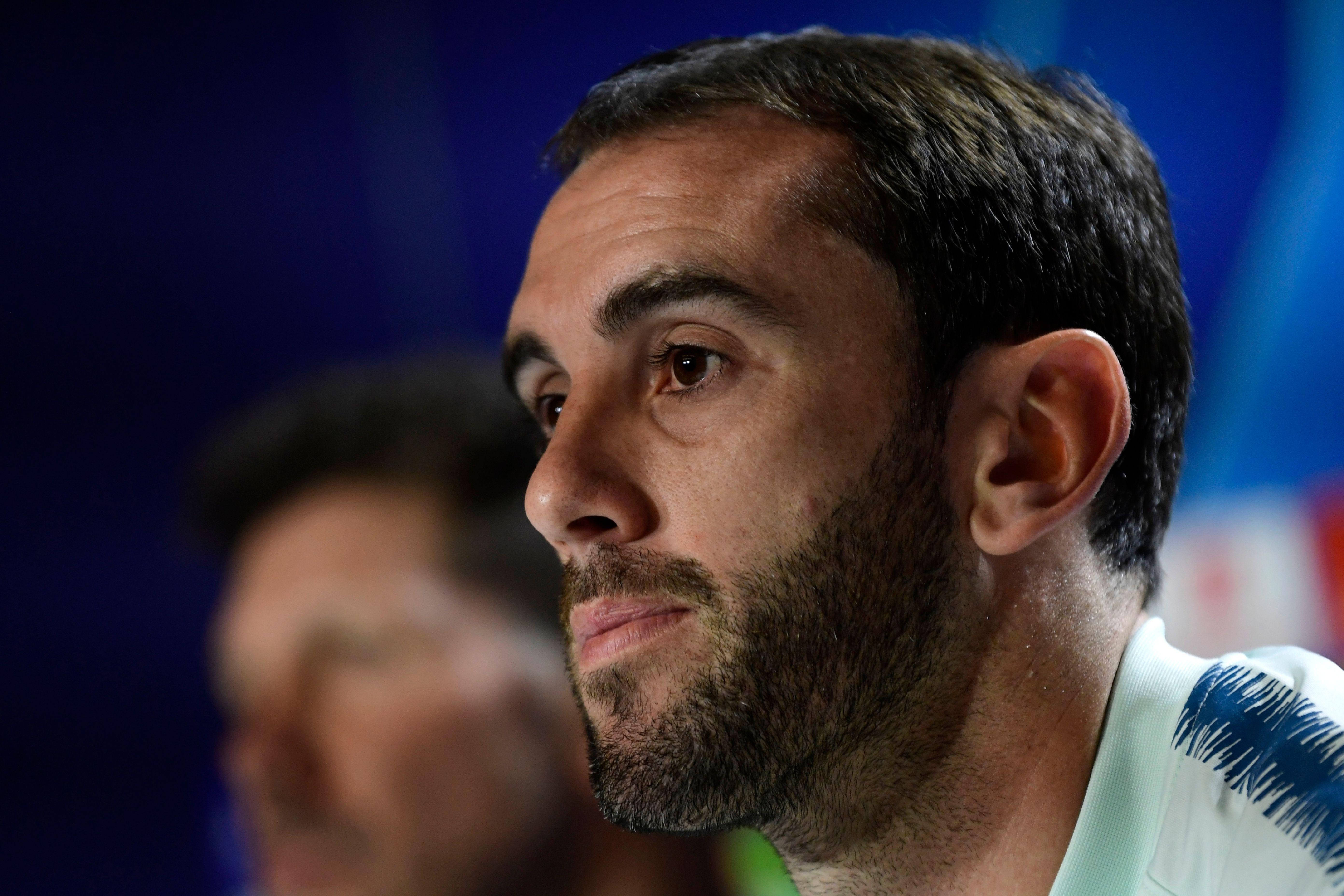 Atl.Madrid, Godin ko: elongazione per il promesso sposo dell'Inter