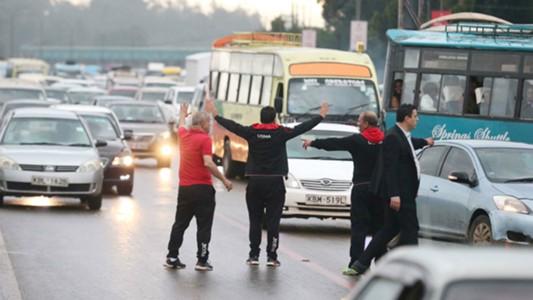 Gor Mahia v USM Alger traffic.j