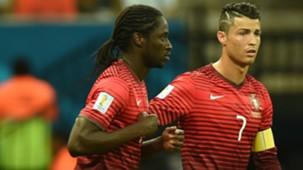 Eder Cristiano Ronaldo Portugal World Cup 2014