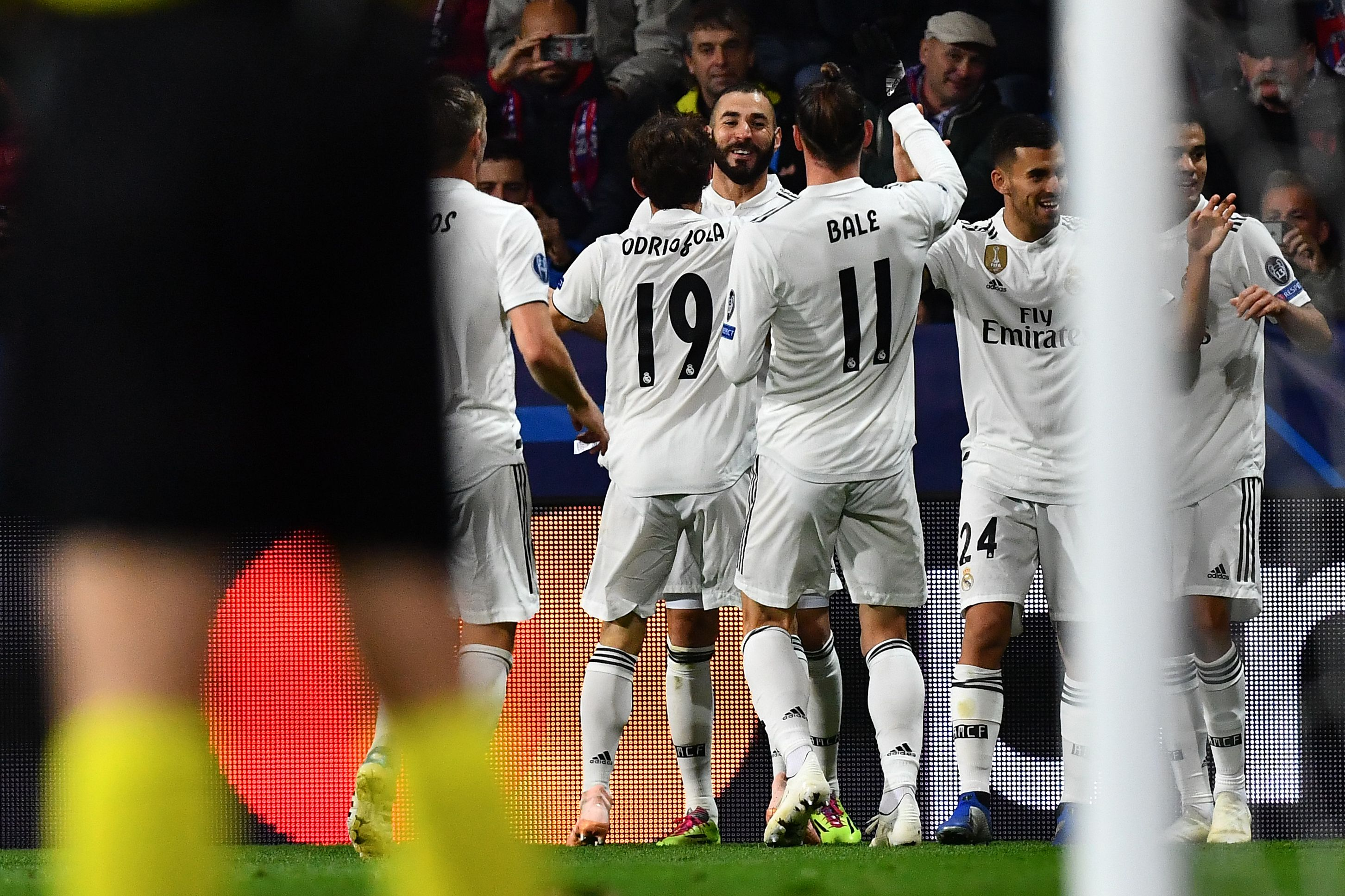 Real Madrid Viktoria Plzen Champions League 2018-2019