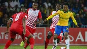 Mamelodi Sundowns, Percy Tau against Free State Stars