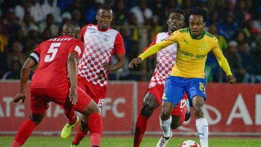 Mamelodi Sundowns, Percy Tau against Free State Stars