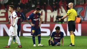 Sergi Roberto FC Barcelona Champions League 103117