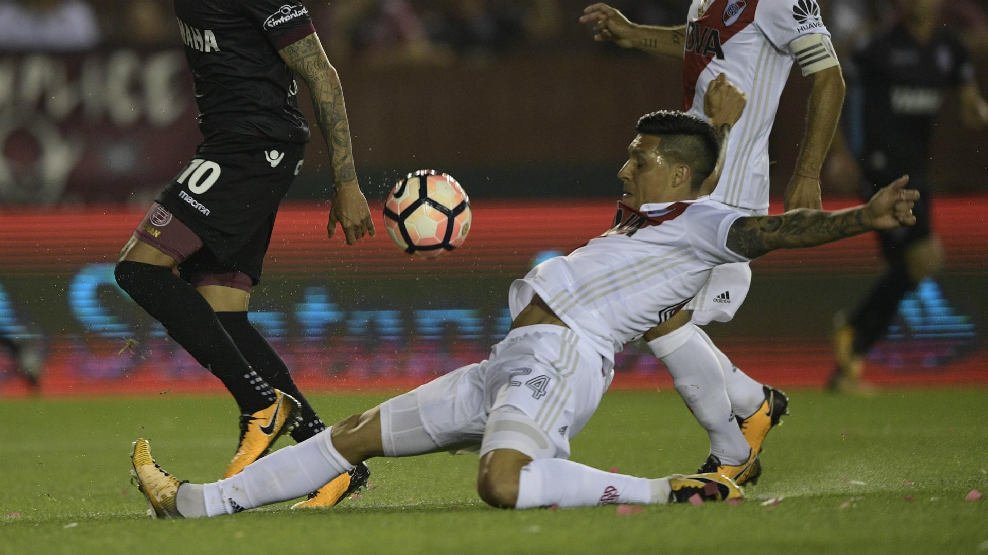 Enzo Perez Lanus River Semifinal Copa Libertadores 31102017