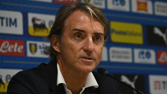 Roberto Mancini press conference Italy Portugal