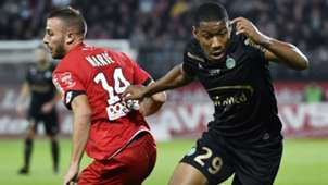 Ronael Pierre-Gabriel Jordan Marie Dijon Saint-Etienne Ligue 1 16092017