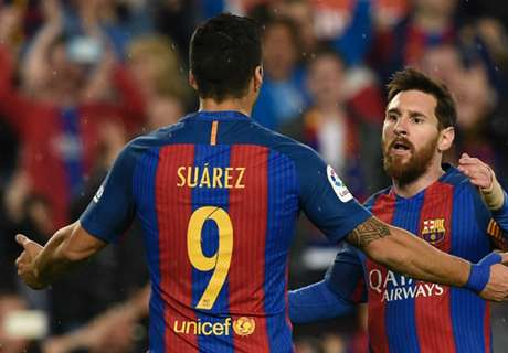 Messi, Luis Suárez et les dix