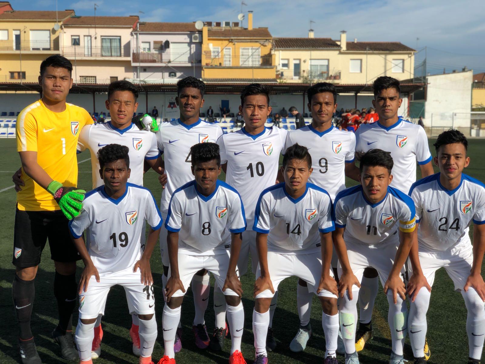 India U-16 vs IFC Stocksund