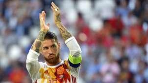 Sergio Ramos Spain Croatia Euro 2016