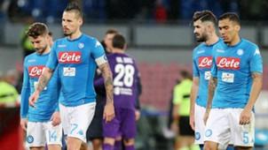 Hamsik Mertens Napoli Fiorentina Serie A